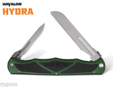 GREEN Havalon HYDRA Double Blade Hunting Knife Blade Skin, Fish Fillet, Bone Saw