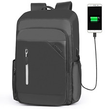 USB Laptop Backpack 17 Inch Business Backpacks Notebook Travel bag for Men Women
