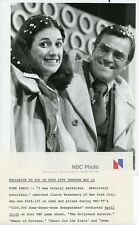 CLAIRE ROSENBERG PETER MARSHALL $100,000 HOME SWEET HOME SWEEPSTAKES NBC TV PHOT