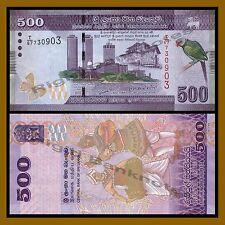 Sri Lanka 500 Rupees, 2010 P-126 Unc