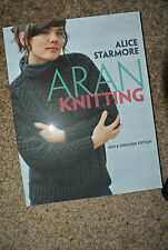 ARAN Knitting Alice Starmore New Expanded 2010 New Soft Cover
