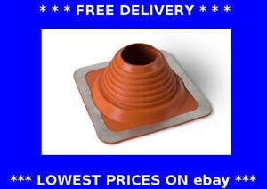 140-292mm Masterflash red roof flashing water rain chimney pipe weather seal