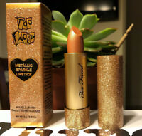Too Faced Metallic Sparkle Lipstick MISS THING - Full Size 3 g / 0.10 Oz. NIB