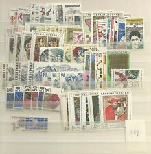 1969 MNH Czechoslovakia year collecttion according to Michel system