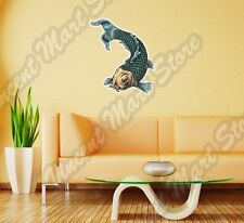 "Catfish Fish Oriental Chinese Asia Wall Sticker Room Interior Decor 18""X25"""