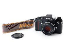 EXC+5 Nikon F3 Eye Level SLR Film Camera w/ Ai-s 50mm F/1.8 pancake Lens Japan