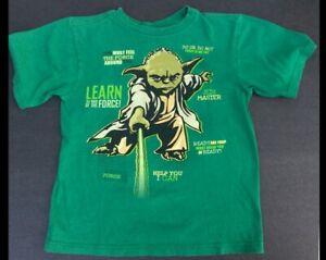 "Disney Star Wars ""Yoda"" Green T-shir - Sz L (10-12)"