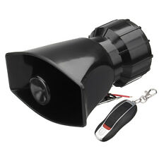 100W DC12V 7 Tones Car Boat Train Siren Speaker Horn +Wireless Remote Controller