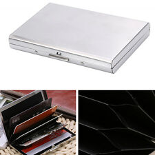 Hot Credit Card Holder Protection Case RFID Blocking Thin Stainless Steel Wallet