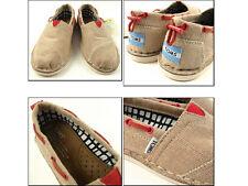 TOMS Burlap Women's Bimini Stitchouts Shoes. Style # 002131B12-BURLA