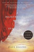 A HEARTBREAKING WORK OF STAGGERING GENIUS Dave Eggers FREE SHIP paperback book