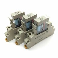 Lot of 3 Omron G2R-1-S Relay, Coil 5VDC, Contact Rating 10A 250VAC/30VDC