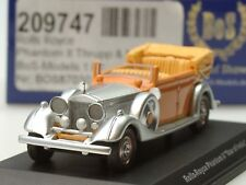 "BOS Rolls Royce Phantom II ""STAR of INDIA"" - 87030 - 1:87"