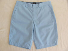"J.Crew Club 10 1/2"" Inseam Shorts-100% Cotton- Pale Chambray/Blue- Size 31 - NWT"