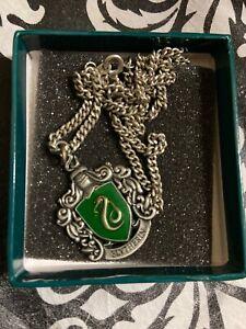 harry potter slytherin necklace