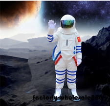 Halloween Spaceman Mascot Costume Astronaut Birthday Party Game Dress Adult Size