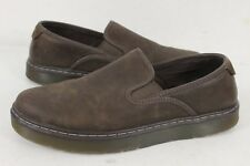 Dr Martens Mens Durham Brown Leather Slip-On Loafer Shoes Size 11 M