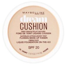 Maybelline Dream Cushion compact Foundation  New & Sealed  10 IVORY