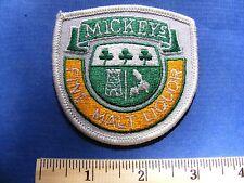 mickeys patch (shield shape)