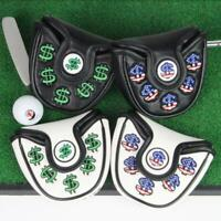Waterproof Cash Money Mallet Putter Cover Headcover Center Putters Protector