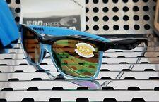 New Costa del Mar ANAA Sunglasses ANA 97 Black-Blue w/ Green 580p Polarized