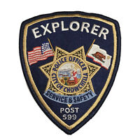 City Of Chowchilla California Police Dept. Explorer Post 599 Police Patch