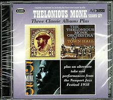 Thelkonious Monk~Three Classic Albums Plus~BRAND NEW 2 CD SET~Free Fast Ship