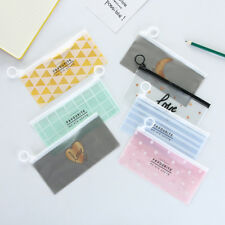 1pc New Makeup PVC Zipper Toiletry Travel Wash Toothbrush Cosmetic Bag Organizer