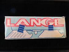 Lange Bob Skates Adjustable Training Ice Skates Child YouthSz 4-10 Made In Italy