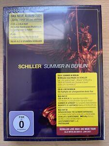 SCHILLER **SUMMER IN BERLIN** 2CD 2BLU-RAY SUPER DELUXE EDITION, NEU + OVP**