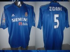 Real Madrid ZIDANE Adidas Adult XXL France Shirt Jersey Football Soccer Trikot B