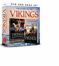 THE STORY OF THE VIKINGS BOOK AND DVD GIFT SET - JOURNEY TO NEW WORLDS DVD
