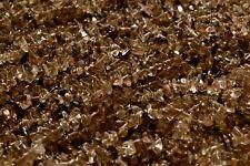 34 Inch Strand Smoky Crystal Quartz Stone Chip Beads -  5mm to 9mm - ZC128
