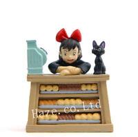 Studio Ghibli Kiki's Delivery Service Jiji Bakery Resin Figure Model Toy 6cm