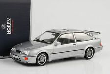 1986 FORD SIERRA RS COSWORTH Gris Metallic 1:18 Norev 182770