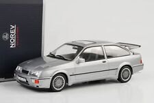 1986 Ford Sierra RS Cosworth gris metalizado 1:18 norev 182770