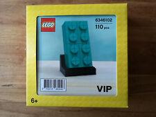 Lego VIP 6346102 - Brique Turquoise 2x4 (teal Brick 2x4)