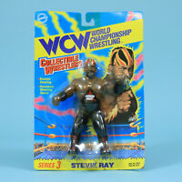 Stevie Ray - WCW OSFTM Series 3 - Toymakers Vintage Wrestling Figure WWF