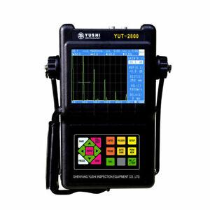 YUSH YUT2800 Ultrasonic Flaw Detector for Metal Pipe Plate Testing Meter NDT