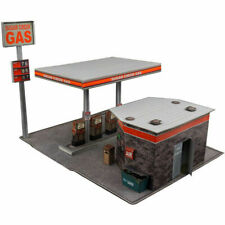 1/32 Slot Car Gas Station Fits Carrera, Scalextric, Strombecker, Eldon, Lionel