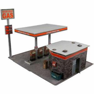 1/32 Slot Car Gas Station Fits Carrera, Scalextric, Strombecker, Eldon, Lionel