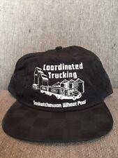 Vtg Saskatchewan Wheat Pool Coordinated Trucking Trucker Hat Snap Back Farming