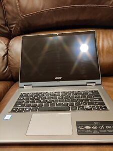"""Acer Spin 14"""" Touch Tablet 2in1 360 i5-8265U 8GB 256GB win10 HDMI cosmetic flaw"""