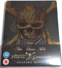 Pirates of the Caribbean Dead Men Tell No Tales / Salazar's 3D Blu-Ray STEELBOOK