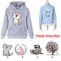 DIY Iron-on Heat Transfer T-shirt Clothes Animal Tree Patch Sticker Applique 1pc