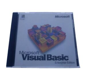 Microsoft Visual Basic 4.0 Enterprise Edition Jewel Case w/ CD & Serial #16