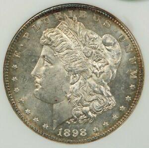 1898-P 1898 Morgan Dollar $1 NGC MS62 PL CAC Old no line fatty holder WOW! NICE!