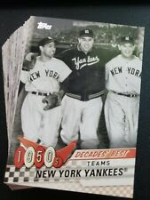 2020 Topps Series 2 Decade's Best You Pick Complete Your Set