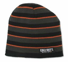 CALL OF DUTY BLACK OPS REVERSIBLE BEANIE HAT NEW OFFICIAL GAME