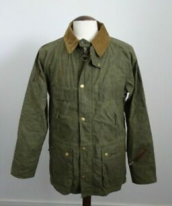 BNWT Mens Barbour Bedale Casual Green Cotton Hooded Country Jacket